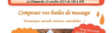 Rencontre Aromatique du 13 Octobre 2013 de 18h à 20h aux Portes du Souffle