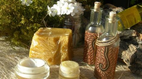 Baume crémeux régénérant à l'huile de Germe de Blé  et à la cire florale de Néroli