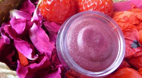 Baume gourmand à la fraise