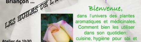 Atelier du 21 Juin 2014 de 10h30 à 12h au magasin Biomonde Briançon