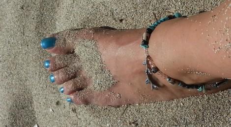 Les couleurs de l'été … Bleu Turquoise ….