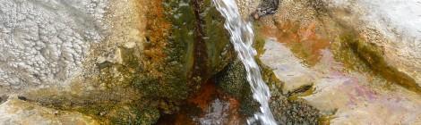 Relation entre les minéraux et l'eau