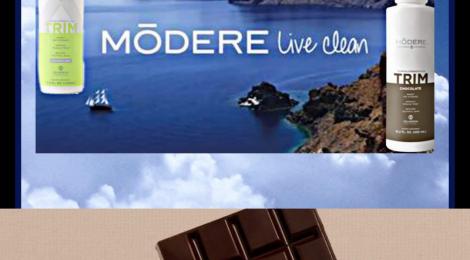 Nouveauté «Modere» le TRIM au chocolat !