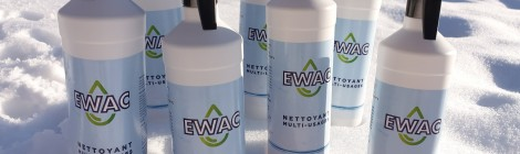 « Ewac » nettoyant multi–usage 100 % biodégradable