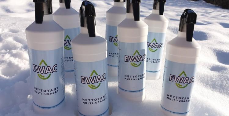 «Ewac» nettoyant multi–usage 100 % biodégradable
