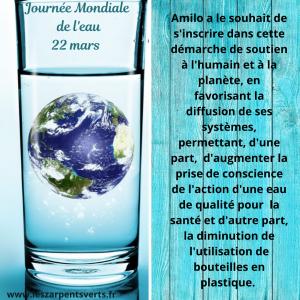 Joujrnée Mondiale de l'eau 22 mars